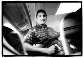 (c)TALOS BUCCELLATI: Musica zingara (in treno) - Roma, 2001